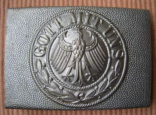 Reichswehr Variant: Private Purchase?