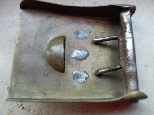 Reichswehr belt buckle genuine?