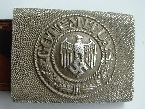 Gott Mit Uns Belt Amp Buckle Real Or Fake