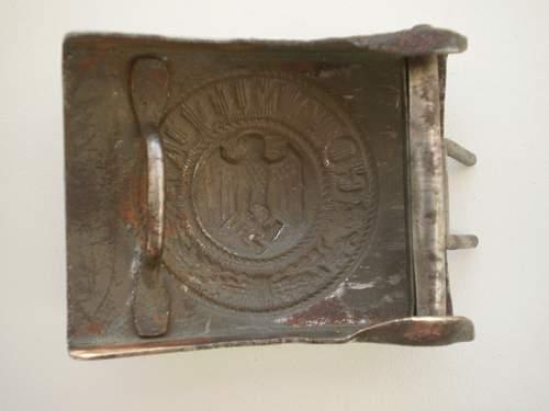 2 German WWII belt buckles