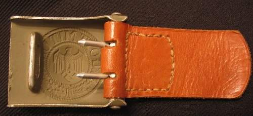 R.s.s. Buckle