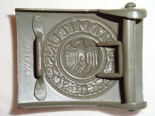 RZM M4/44 Heer buckle