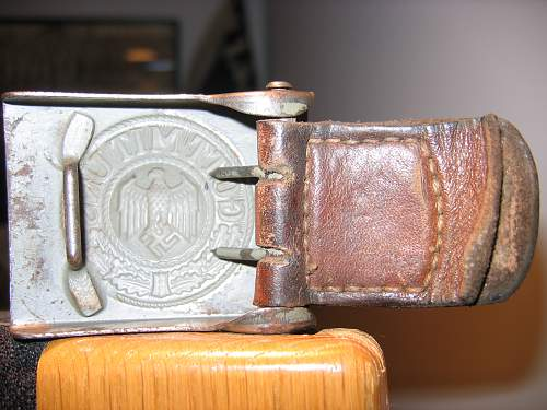 Heer Buckle for review and help identifying mark