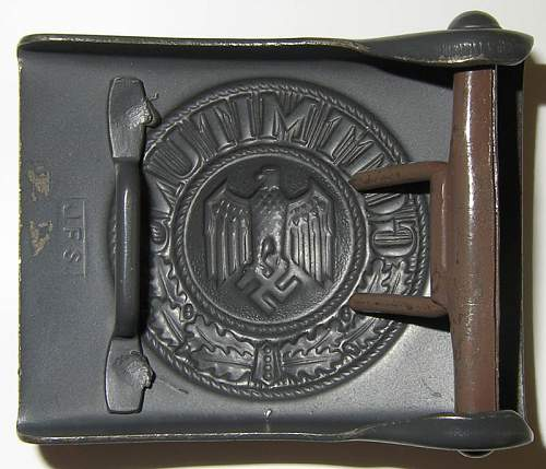JFS Wehrmacht buckle, what the peoples think?