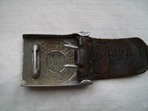 Heer belt & buckle