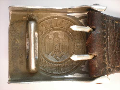 Another 1938 Heer buckle