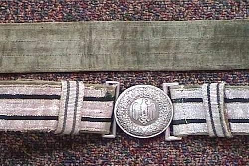 Heer parade belt