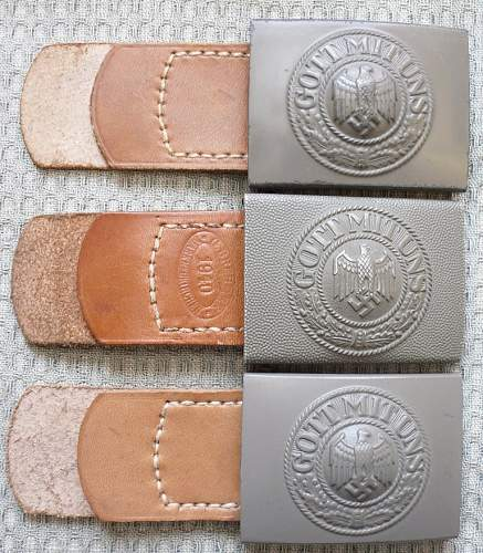 New Heer buckle added to collection....STONE Mint