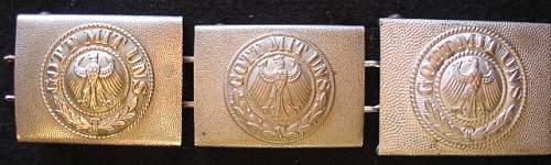 Reichswehr buckle