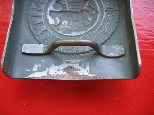 Questionable Heer Buckle - steel Overhoff