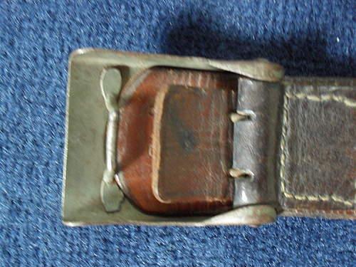 Wehrmacht Belt And Buckle