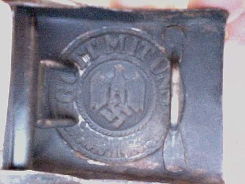 Gott Mit Uns German Buckle History/Info
