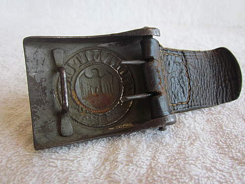 Late War/Tropical Web belt and Buckle opinion