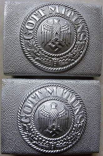 2 WH OLC parade buckle