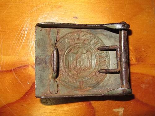 Unmarked Heer Belt Buckle