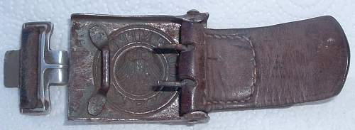 Reichswehr Buckles with Unit Markings & More on Tab