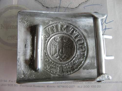 My Wehrmacht Belt Buckle