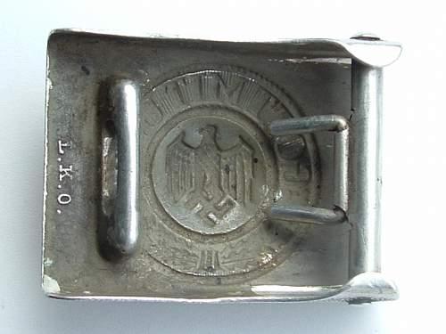Heer buckle: Louis Keller, Oberstein
