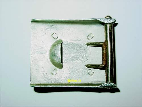 What an ordinary buckle...........