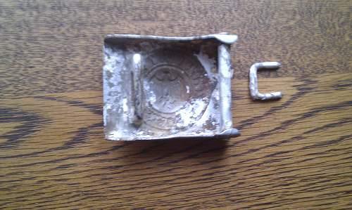 Wehrmacht Belt Buckle, Ground dug?