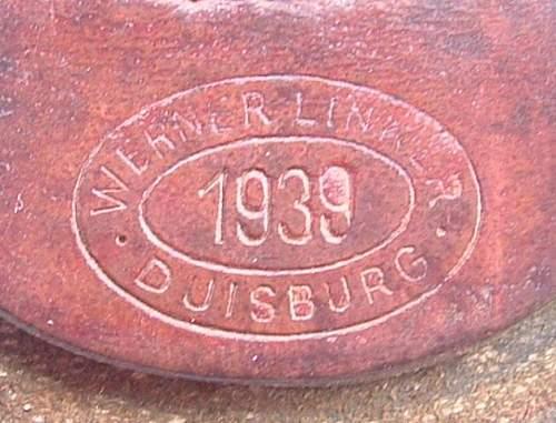 Click image for larger version.  Name:M9_34 Aluminium Werner Linker Duisberg 1939 Tab.JPG Views:100 Size:64.6 KB ID:437840