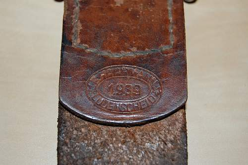 B. Haarmann WW2/Reused Buckle