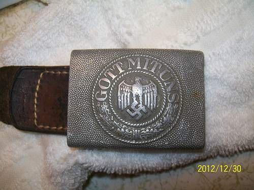 heer buckle with tab recent find