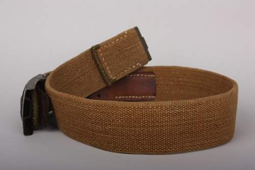 Thoughts of new purchase - tropical belt & buckle