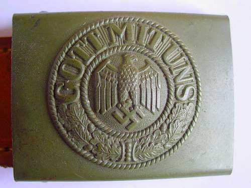 Wehrmacht Belt Buckle real or fake