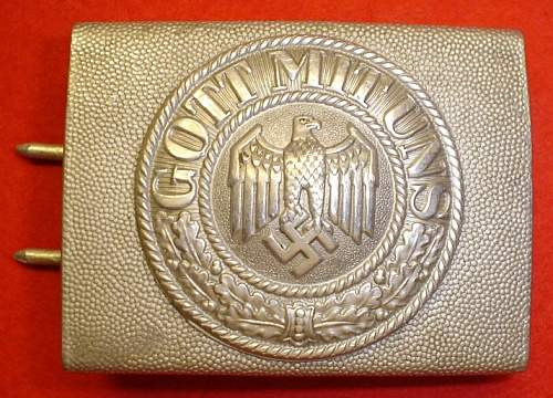 private purchased WH buckle