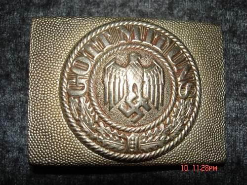 Reichswehr Conversion buckle