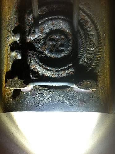2 Heer belt buckles real or fake...