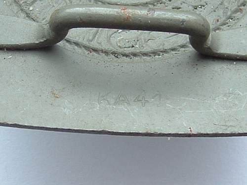 Steel WH Belt Buckles