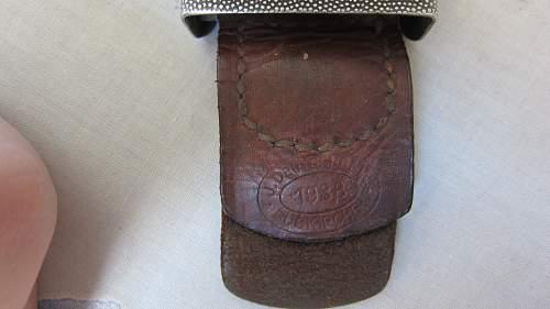 New Heer buckle 1938