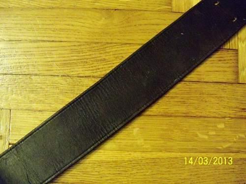 Officers Belt
