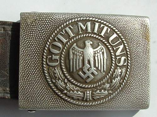1937 Adolf Baumeister Buckle