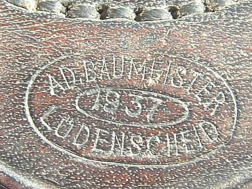 1937 Adolf Baumeister Buckle