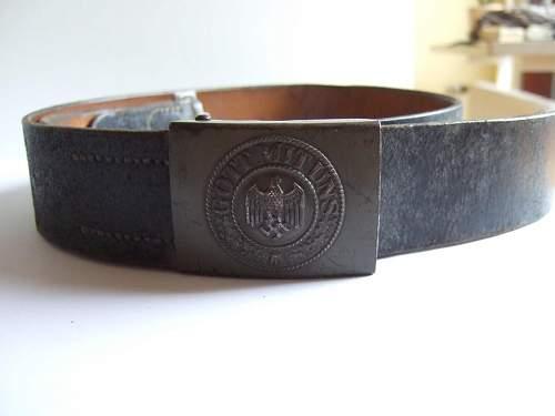 Belt Buckle Wehrmacht