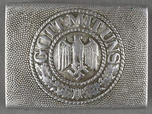 1937 dated klein und quenzer buckle