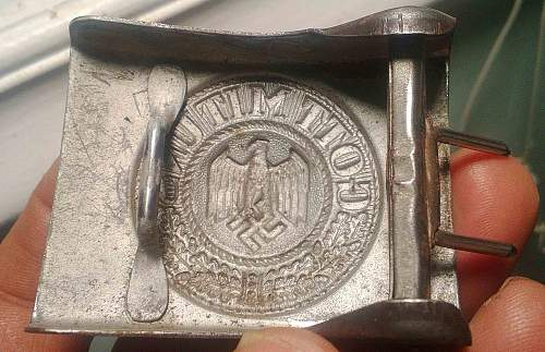 relic belt and buckle- Info request- ( whats that ?)