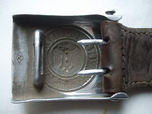 My latest addition Paulmann and Crone belt and buckle