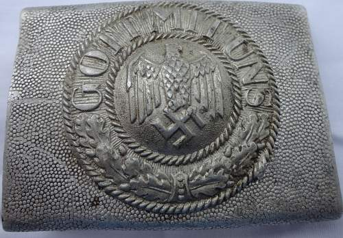 Couple of Army Heer light parade buckles