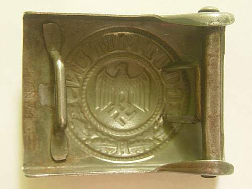 Heer B&N made belt buckle