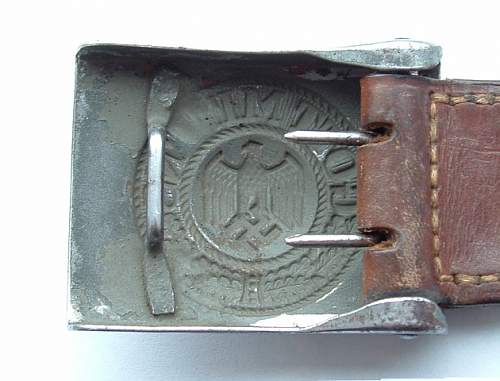 Heer Buckle not quite right IMO