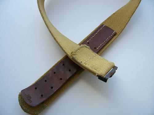 Heer buckles/Tropical belt