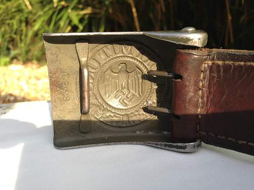 A few pics of my new buckle