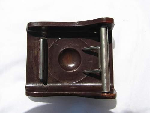 bakelite belt buckles
