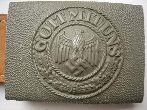 ---- Wehrmacht buckle ----