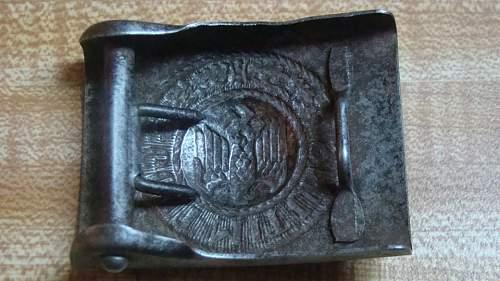 Original Heer buckle?