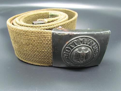 Real or Fake? Gott mit uns Belt & Buckle.